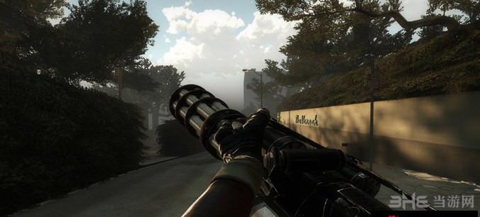 求生之路2英雄萨姆3 XM214-A重机枪MOD截图1