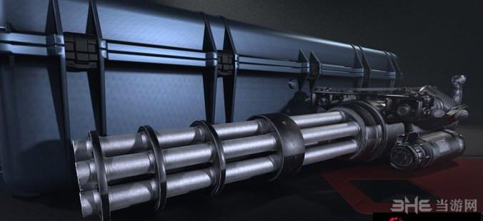 求生之路2英雄萨姆3 XM214-A重机枪MOD截图3