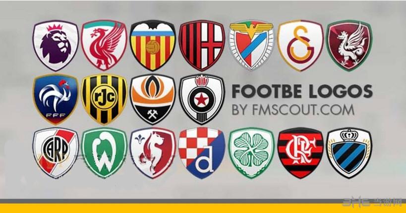 FM2017v2.3盾牌风格队徽logo包含31个联赛截图0