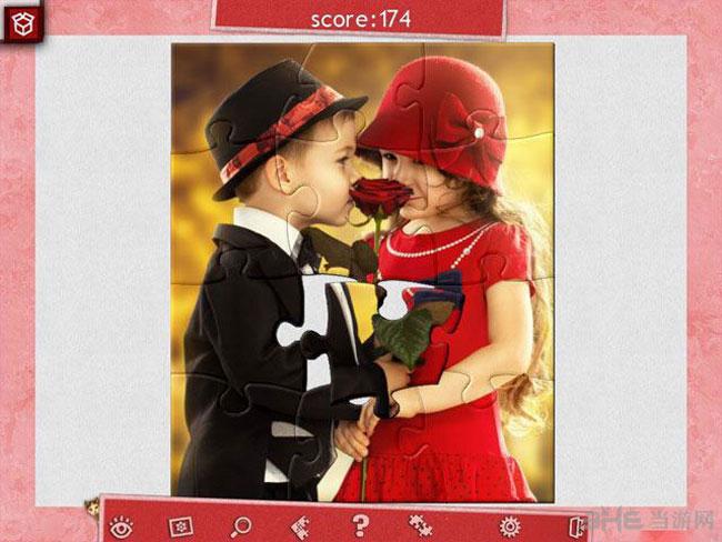 假日拼图:情人节4截图0