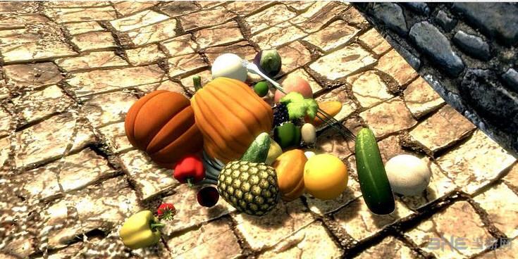 上古卷轴5:天际重制版新水果和蔬菜MOD截图0