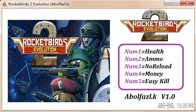 火箭鸟2:进化五项修改器截图0