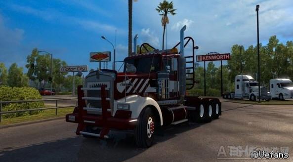美国卡车模拟重型肯沃斯W900截图0