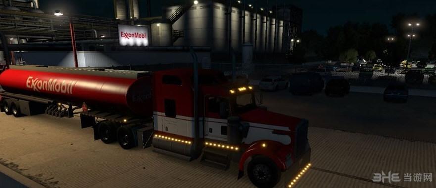 美国卡车模拟真实的公司和拖车MOD截图2