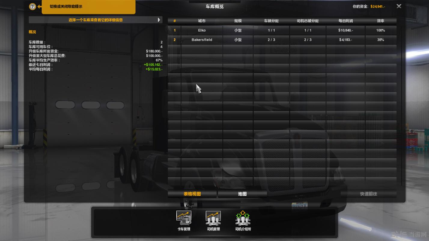 美国卡车模拟100%地图存档截图3