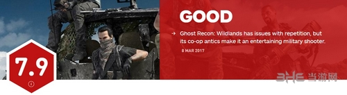 幽灵行动荒野IGN评分截图