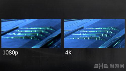 质量效应1080P与4K画质对比截图1