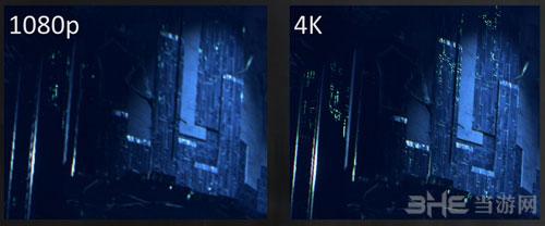 质量效应1080P与4K画质对比截图2