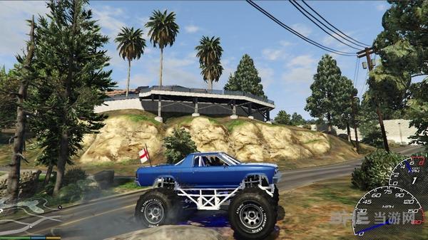 侠盗猎车手5汽车速度表MOD截图3