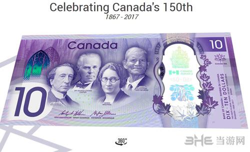 加拿大10元纸币截图1