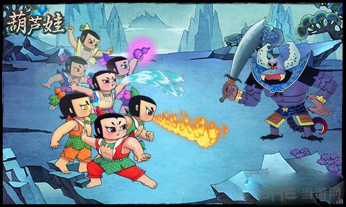 葫芦娃手游策略玩法初探 一起合作取胜