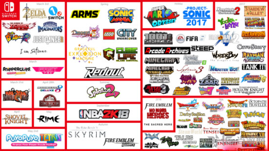 任天堂Switch第三方游戏图片