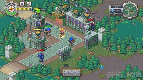 建筑大战洛克的冒险游戏截图1