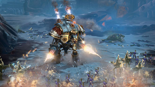 《战锤40k:战争黎明3》超清桌面公布 游戏于今天发售图片