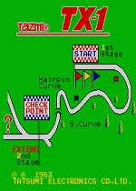 TX-1赛车