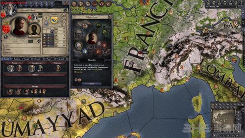 十字军之王2 2.6.x整合女囚绅士mod截图2