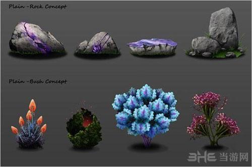 永恒边缘植物设定图2