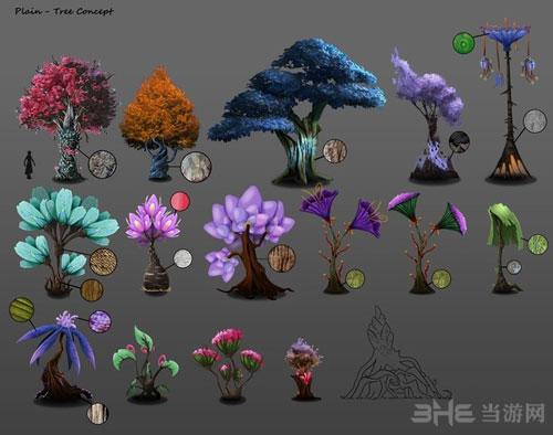 永恒边缘植物设定图1