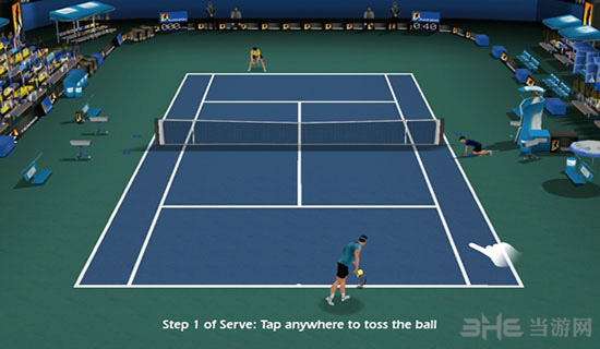 指尖网球手游截图3