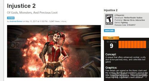 各媒体给出的不义联盟2游戏评分图片6