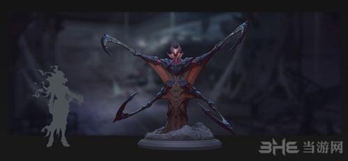 暗黑血统3游戏艺术原画2