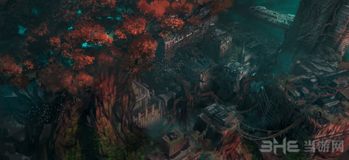 暗黑血统3游戏艺术原画3