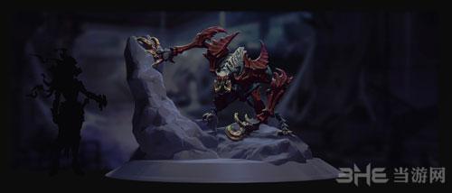 暗黑血统3游戏艺术原画1