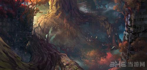 暗黑血统3游戏艺术原画5