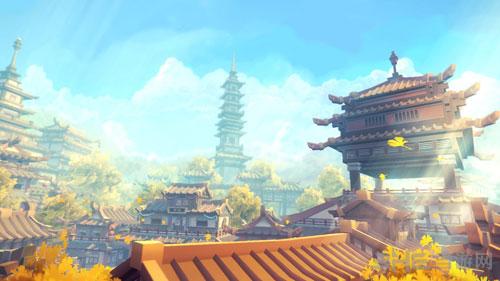 幻想三国志5洛阳远景