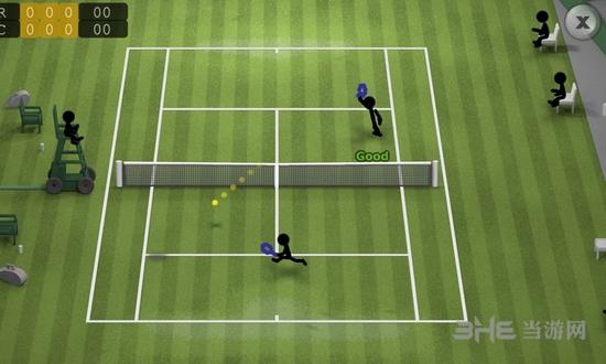 火柴人网球截图0