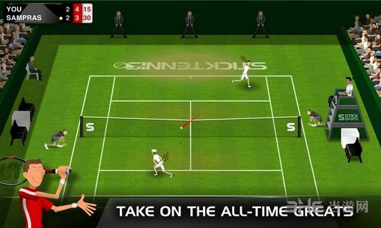 Stick Tennis破解版截图2