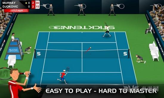 Stick Tennis破解版截图4