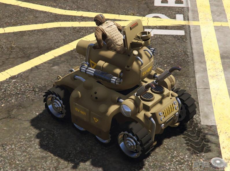 侠盗猎车手5合金弹头坦克SV-001MOD截图0