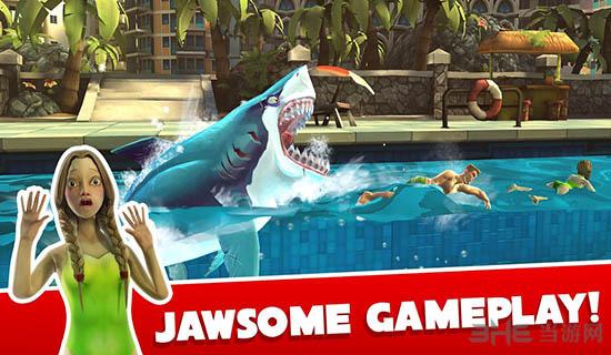 饥饿鲨:世界破解版截图1