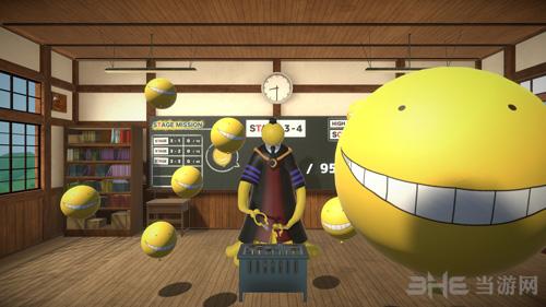 暗杀教室VR气球挑战时间游戏截图4