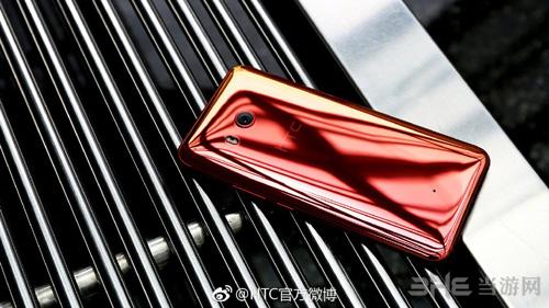 HTC U11火炽红图片5