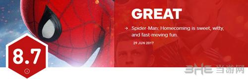 IGN蜘蛛侠评分图片1