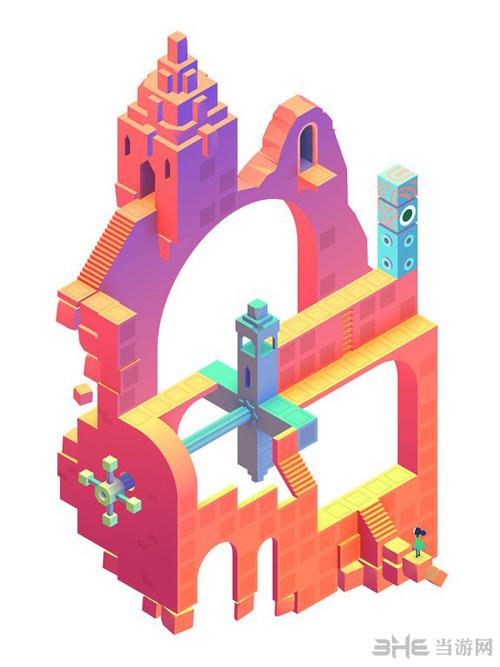 纪念碑谷2游戏图片2