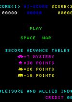 外层空间战争(Space War )街机版