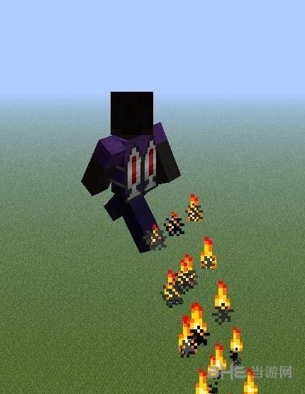 我的世界1.7.2简易火箭喷射器背包MOD截图2