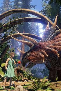 《方舟:公园》游戏截图 真人动作捕捉原始森林实地取景