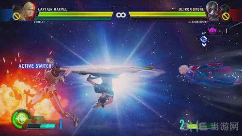 终极漫画英雄VS卡普空3游戏截图5