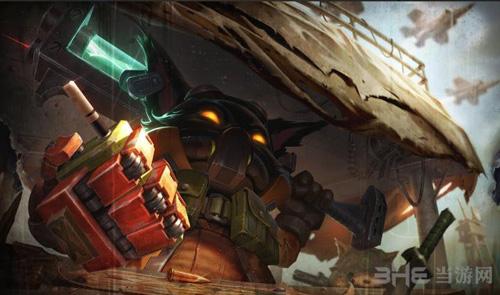 《英雄联盟》欧米伽皮肤图片4