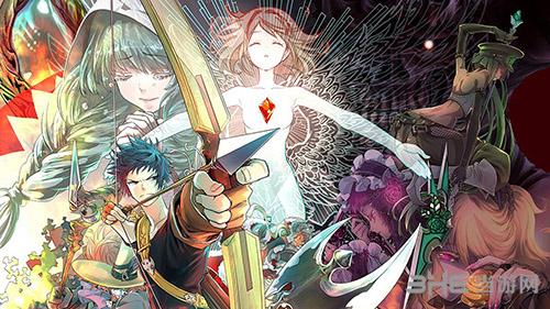 最终幻想:迷失的陌生人漫画宣传海报