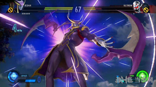 漫画英雄VS卡普空:无限游戏画面3