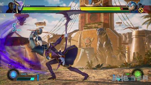 漫画英雄VS卡普空:无限游戏画面2