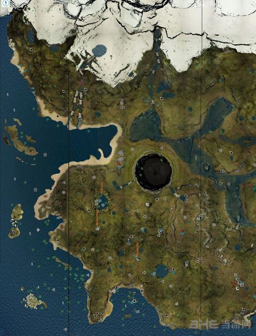 游戏攻略 → 森林地图怎么看 森林地图使用方法介绍   红三角是野人村