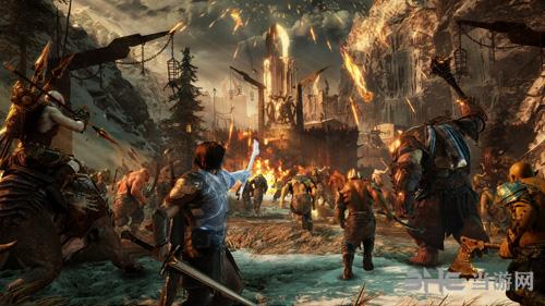 中土世界:战争之影游戏宣传画2