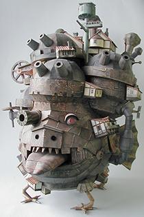 《哈尔的移动城堡》超威武模型