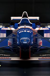 F1 2017游戏截图 车神们的经典赛车正面证件照